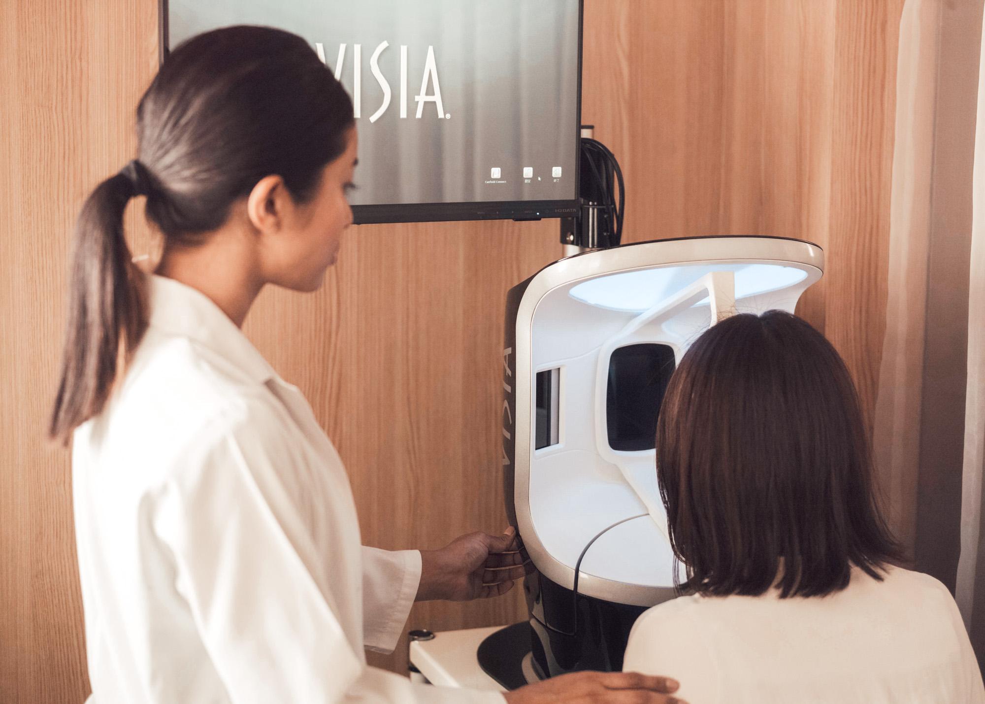 肌診断機 VISIA